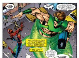 AMAZING SPIDER-MAN ANNUAL #37 preview art by Pat Olliffe