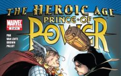 HEROIC AGE: PRINCE OF POWER #2 cover by Khoi Pham