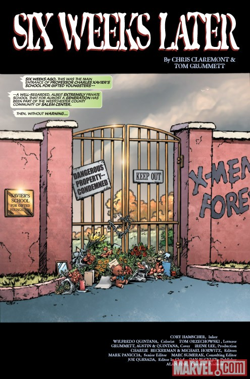 X-MEN FOREVER 2 #2 preview art by Tom Grummett