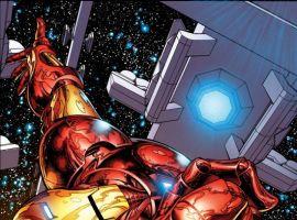 INVINCIBLE IRON MAN #1 (Quesada var.)