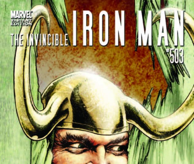 Invincible Iron Man (2008) #503, THOR HOLLYWOOD VARIANT