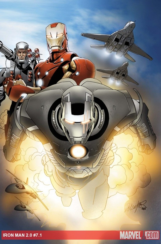 IRON MAN 2.0 #7.1 cover