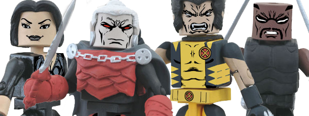 X-Men: Curse of the Mutants Minimates