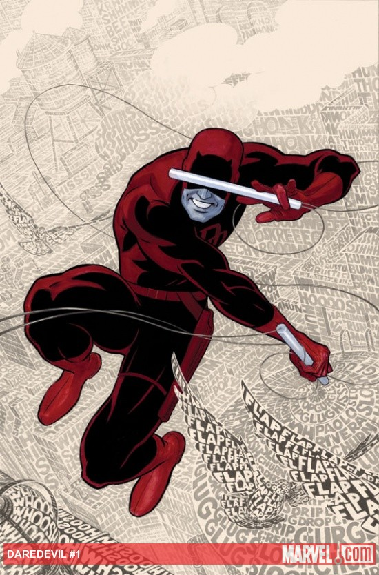Daredevil #1 cover art by Paolo Rivera