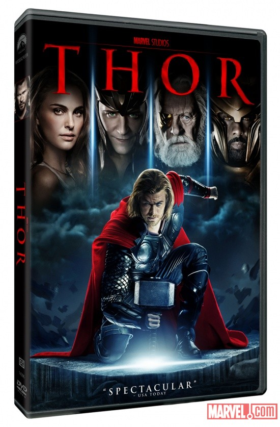 Thor DVD box art