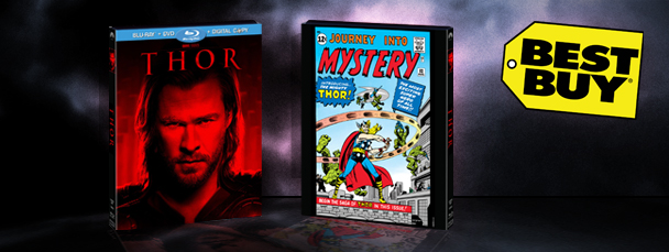 Limited Edition Packaging for Thor Blu-Ray/DVD!