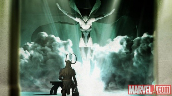 Loki summons Hela in Thor & Loki: Blood Brothers