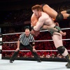 Sheamus slams Randy Orton