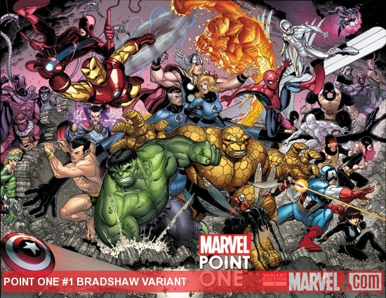 Point One (2011) #1, Bradshaw Variant