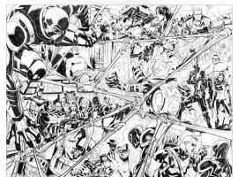 Venom #23 inked preview art by Thony Silas