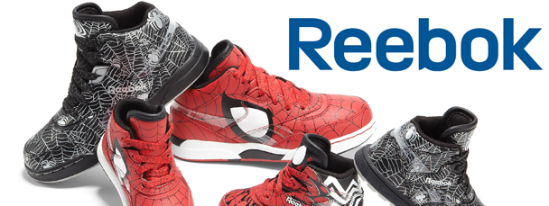 New Reebok Spider-Man Themed Sneakers