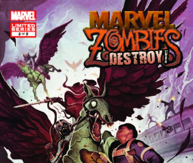 MARVEL ZOMBIES DESTROY! 3 (WITH DIGITAL CODE)