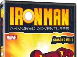 Iron Man: Armored Adventures Season 2, Vol. 1 box art