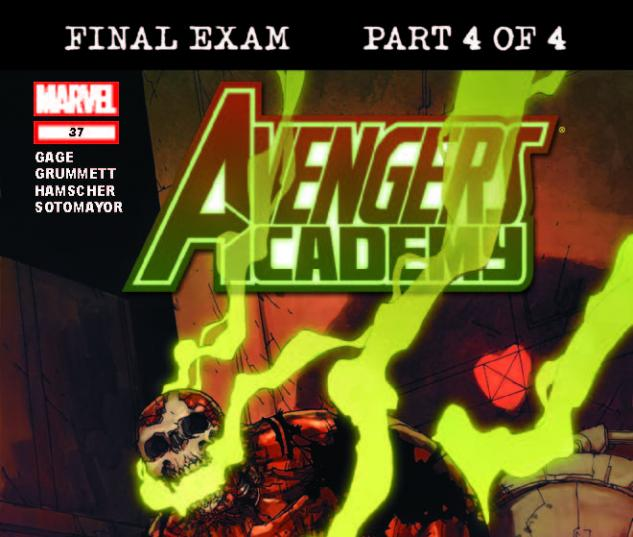 AVENGERS ACADEMY 37