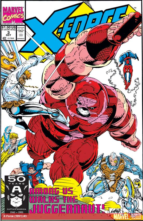 X-Force (1991) #3 Cover