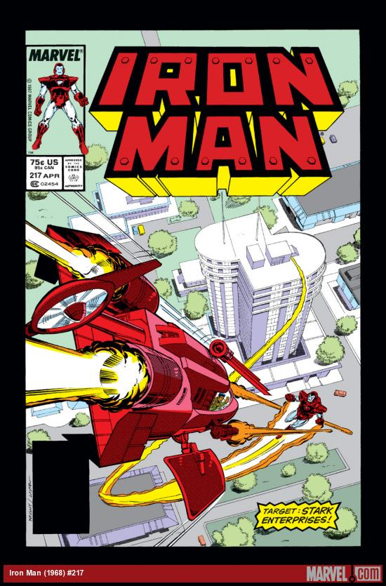 Iron Man (1968) #217 Cover