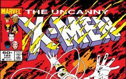 Uncanny X-Men (1963) #184 Cover
