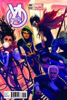 Young Avengers (2013) #2 (Hans Variant)
