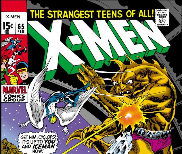 Uncanny X-Men (1963) #65 Cover