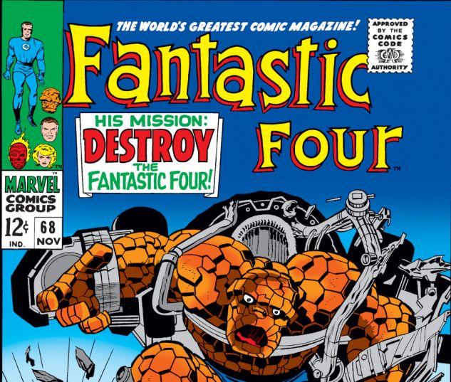 Fantastic Four (1961) #68 Cover
