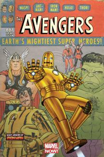 Avengers #9  (Quinones Iron Man Many Armors Variant)