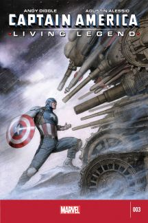 Captain America: Living Legend #3