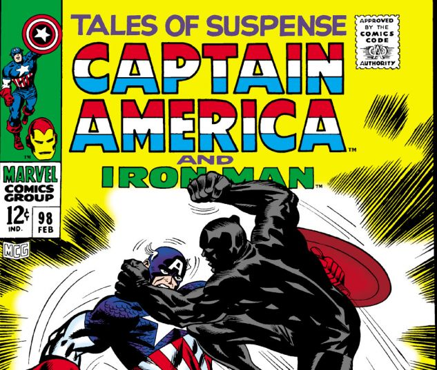 Tales of Suspense (1959) #98 Cover