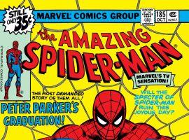 Amazing Spider-Man (1963) #185 Cover