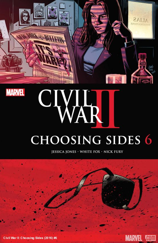 Civil War II: Choosing Sides (2016) #6