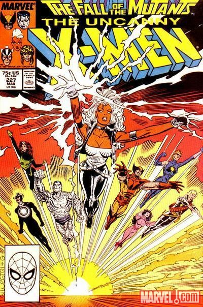 Image Featuring Havok, Longshot, Psylocke, Rogue, Storm, Wolverine, X-Men, Colossus