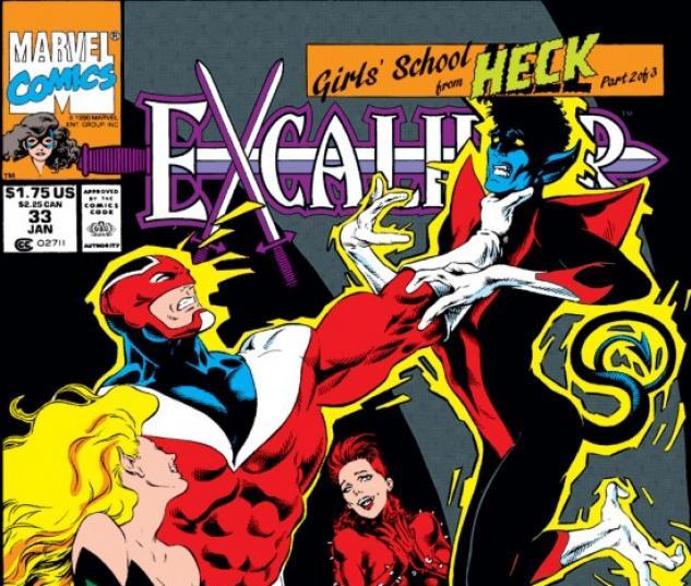 EXCALIBUR #33 COVER