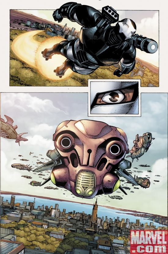 IRON MAN: DIRECTOR OF S.H.I.E.L.D. #33 Interior Art