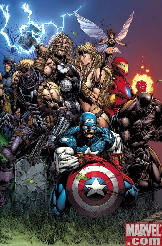 ULTIMATUM #2 cover by David Finch
