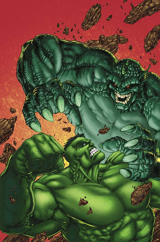 MARVEL AGE HULK (2005) #4 COVER