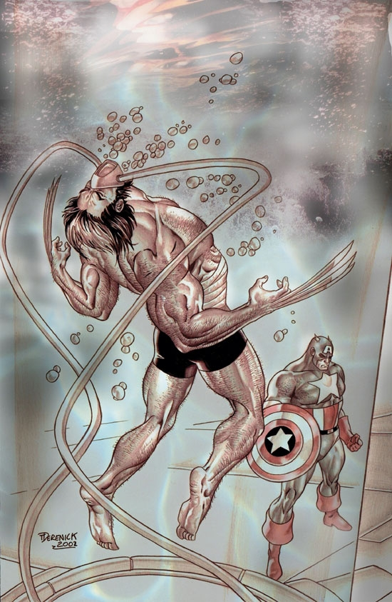 WOLVERINE/CAPTAIN AMERICA (2003) #3 COVER