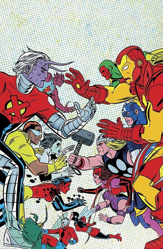 X-STATIX VOL. 4: X-STATIX VS. THE AVENGERS COVER