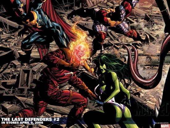 The Last Defenders (2008) #2 Wallpaper