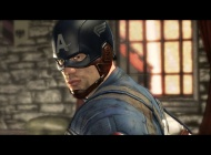 """Screenshot of Chris Evans as Captain America from the """"Captain America: Super Soldier"""" video game"""