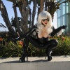 Yaya Han cosplaying as Black Cat
