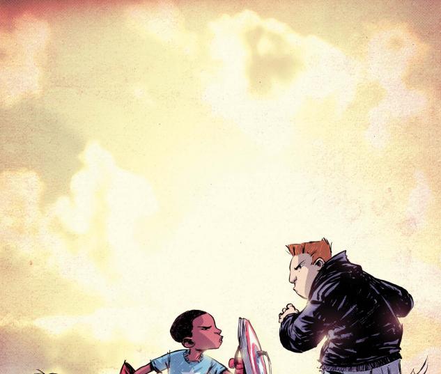 FF #5 (I Am Captain America Variant) cover