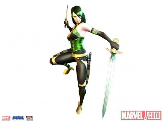 Madame Hydra Wii render from Captain America: Super Soldier by Next Level Games