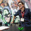 San Diego Comic-Con 2011: Hulk Lego test scetch with J. Scott Campbell
