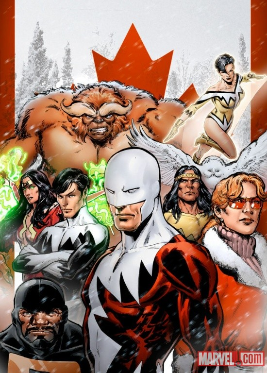 Alpha Flight by Phil Jimenez