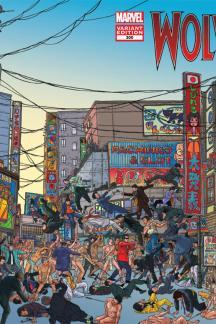 Wolverine (2010) #300 (Wraparound Variant)
