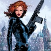 The Black Widow in her Russian homeland