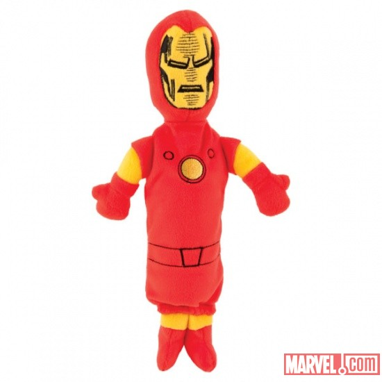 Iron Man Bottle Stuffer by Fetch available at Pet Smart