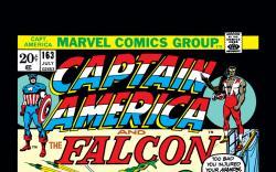 Captain America (1968) #163 Cover