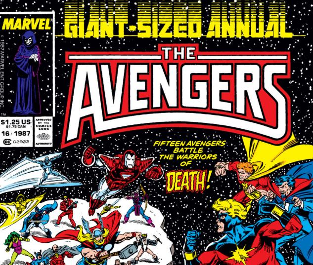 Avengers Annual (1967) #16 Cover