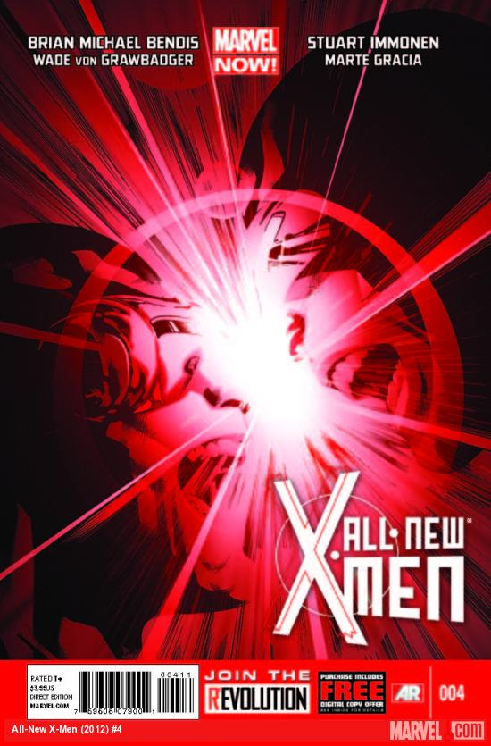 ALL-NEW X-MEN 4 (NOW, WITH DIGITAL CODE)