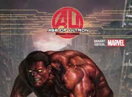 AGE OF ULTRON 3 LEE VARIANT (1 FOR 50, WITH DIGITAL CODE)